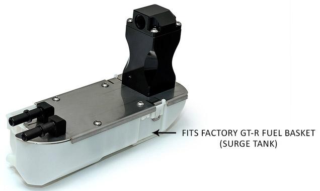 gtr alpha performance r35 omega brushless fuel pump system. Black Bedroom Furniture Sets. Home Design Ideas