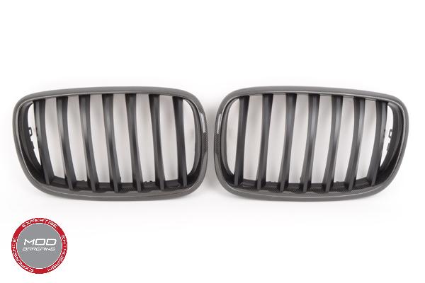 Carbon Fiber Kidney Grilles for BMW X5M/X6M E70/E71