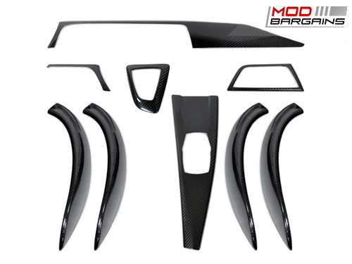 AutoTecknic Carbon Fiber Interior Trim for 2013+ BMW 3-Series F30/F31/F34 - BM-0363