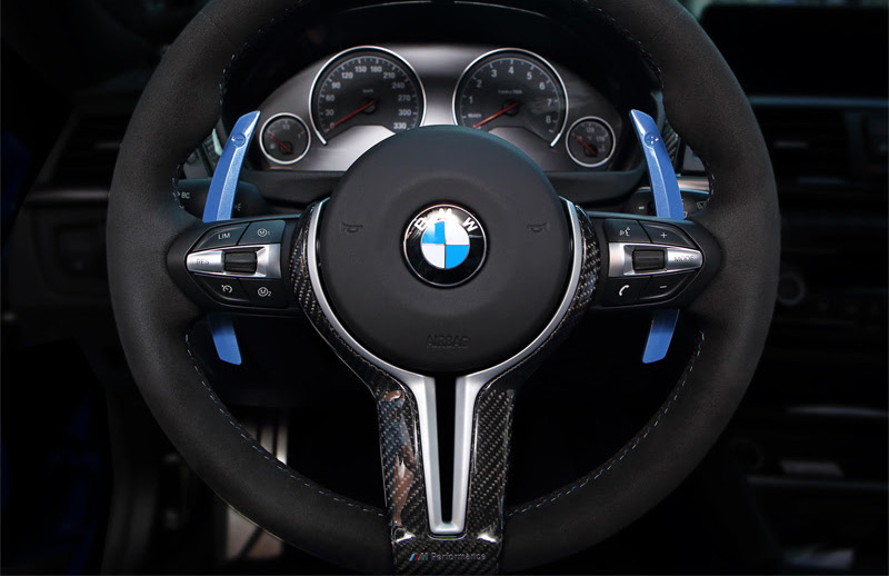 Competition Steering Paddle Shifters For Bmw F80 M3 F82 M4 F10 M5 F06 F12 F13 M6 Bm 1064