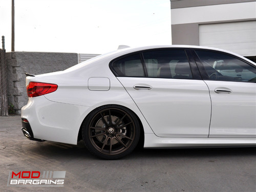 BMW M5 5-Series G30 F90 530i 540i M550i Carbon Fiber Trunk Spoiler Autotecknic