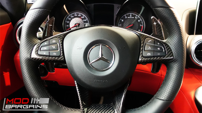 AUTOTECKNIC COMPETITION SHIFT PADDLES MERCEDES-BENZ AMG ATK-BM-0166 DRY CARBON
