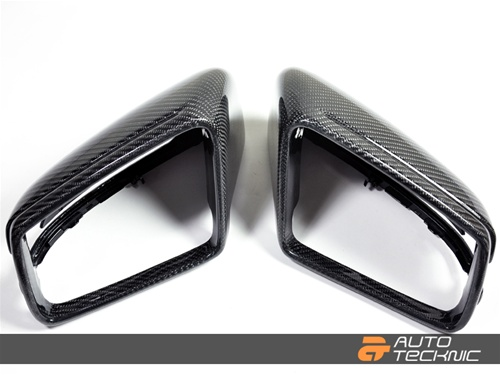 Dry Carbon fiber mirror covers