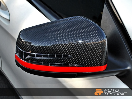 CF Mirrors on Car