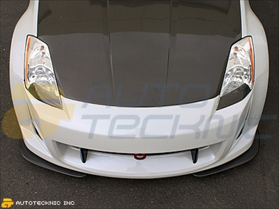 Nissan 350z with Carbon Fiber Hood