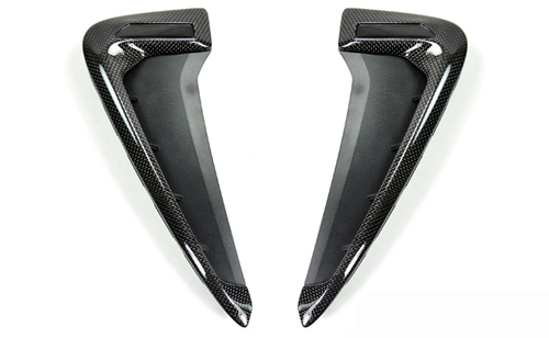 Replacement Carbon Fiber Fender Trims for BMW X5/X5M