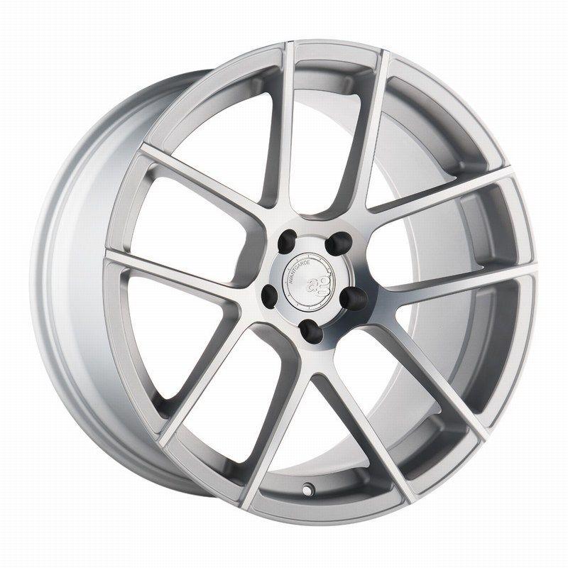 Silver Avant Garde M510 Wheels