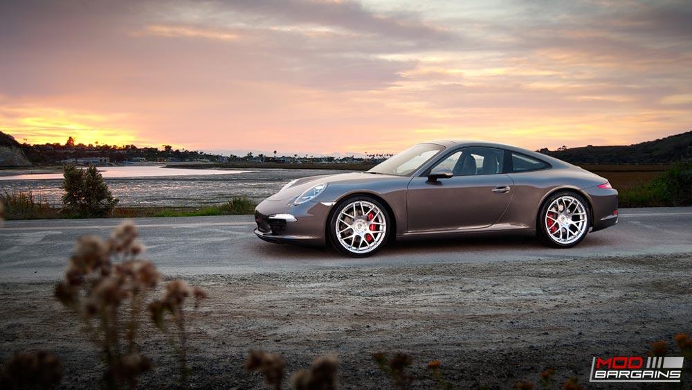 Avant Garde Ruger Mesh Wheels Installed on Porsche