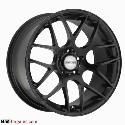 Avant Garde M310 Wheels Flat Black