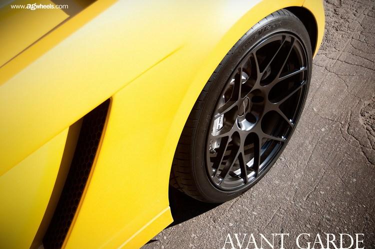 Avant Garde F310 Wheels Lamborghini Gallardo Rear Driver