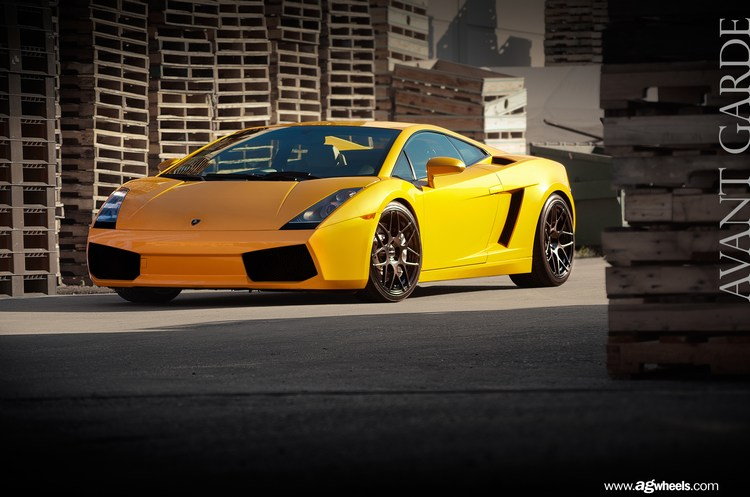 Avant Garde F310 Wheels Lamborghini Gallardo Driver's Side