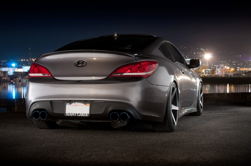The ARK GRIP Exhaust System Maximizes The Performance Potential Of The Hyundai  Genesis 2.0T.