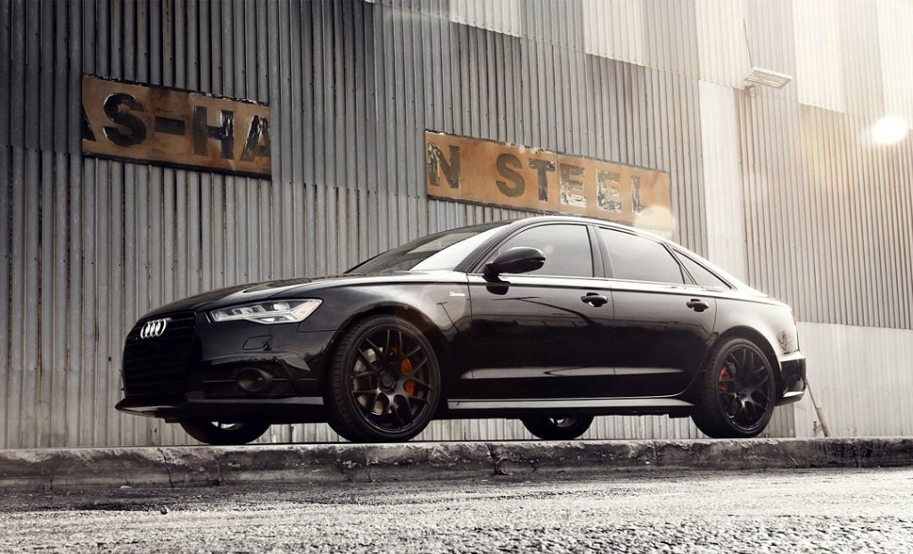Avant Garde M610 Wheels in Matte Black on Audi A6