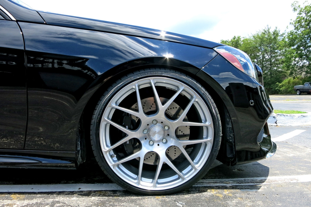 Avant Garde M610 Wheels in Brushed Liquid Silver on Mercedes Benz E Class (3)