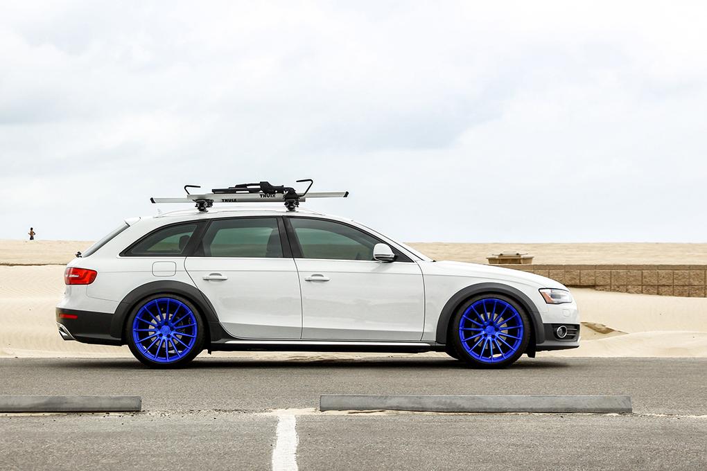 Avant Garde M615 Electron Blue on Audi Allroad (3)