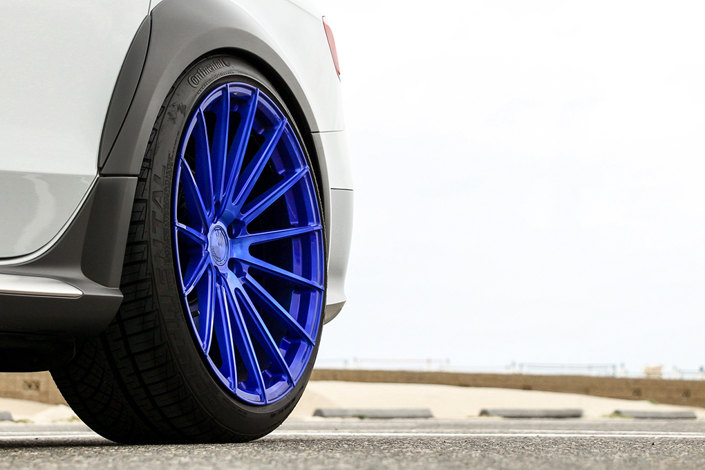 Avant Garde M615 Electron Blue on Audi Allroad (4)
