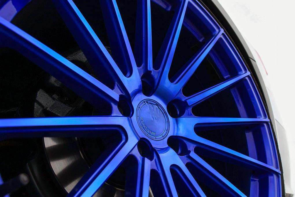 Avant Garde M615 Electron Blue on Audi Allroad (5)