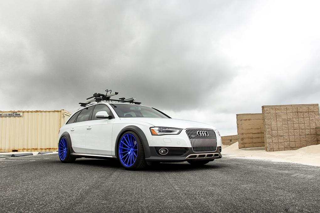 Avant Garde M615 Electron Blue on Audi Allroad