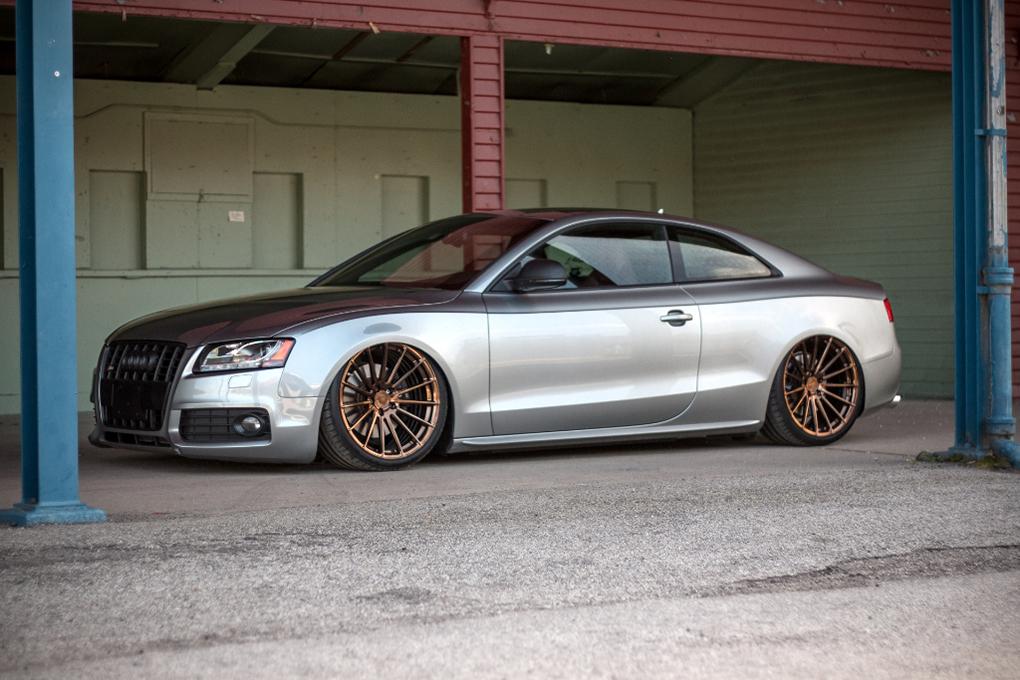 Avant Garde M615 Polished Liquid Bronze on Audi A5 (3)