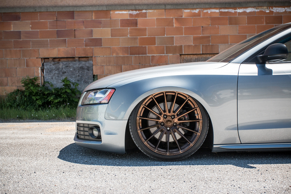 Avant Garde M615 Polished Liquid Bronze on Audi A5 (4)