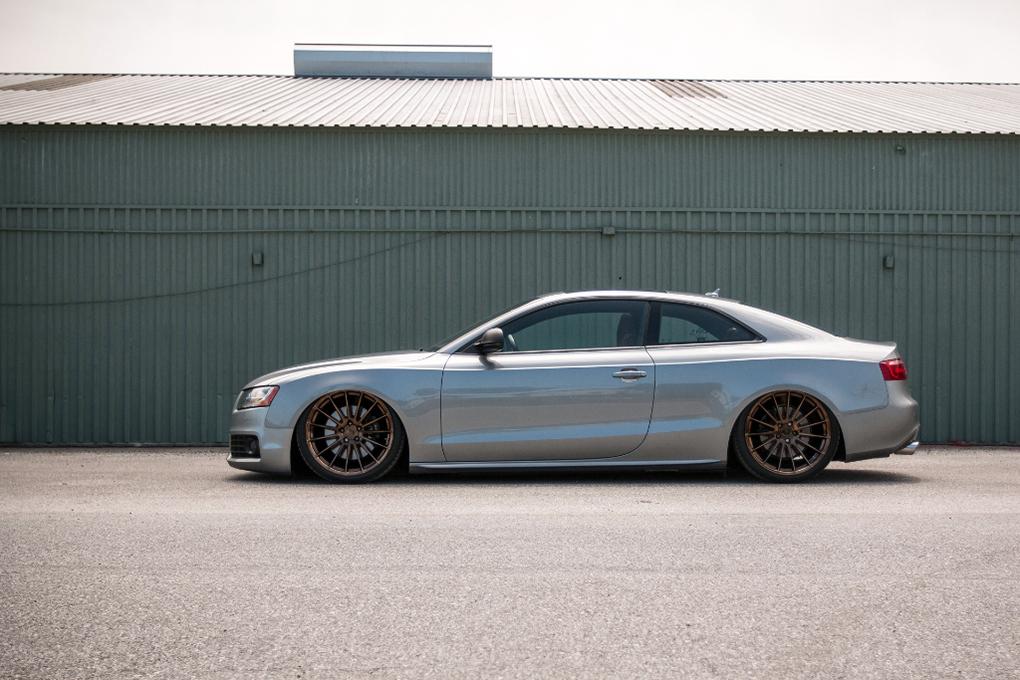 Avant Garde M615 Polished Liquid Bronze on Audi A5