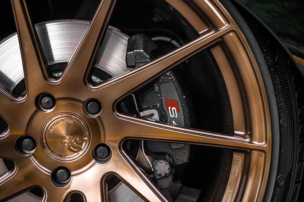 Avant Garde M621 Wheels in Brushed Antique Bronze (3)