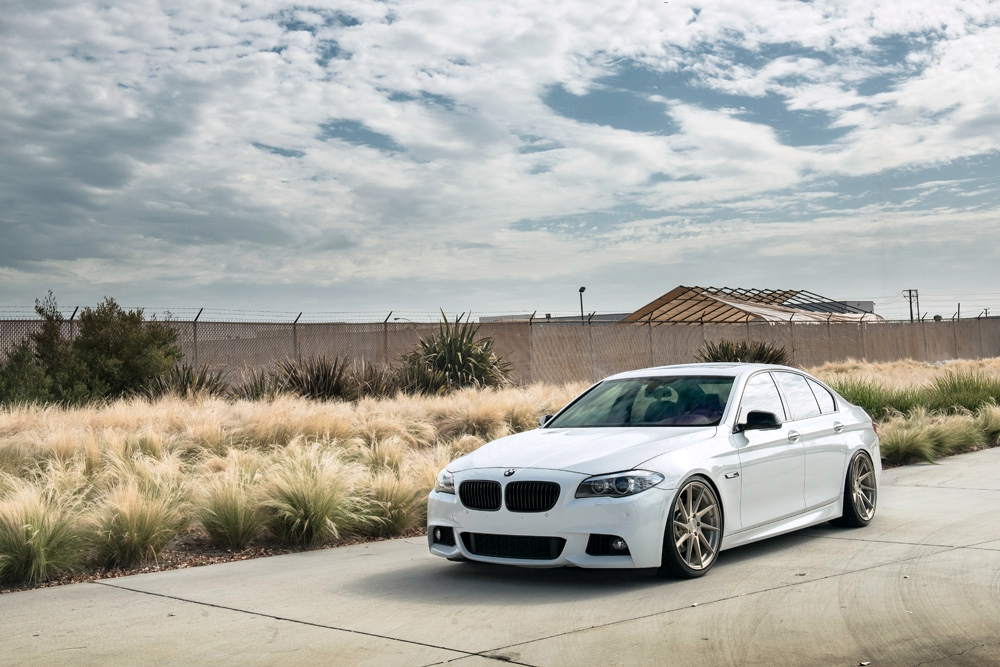 Avant Garde M621 Wheels in Brushed Champagne (3)