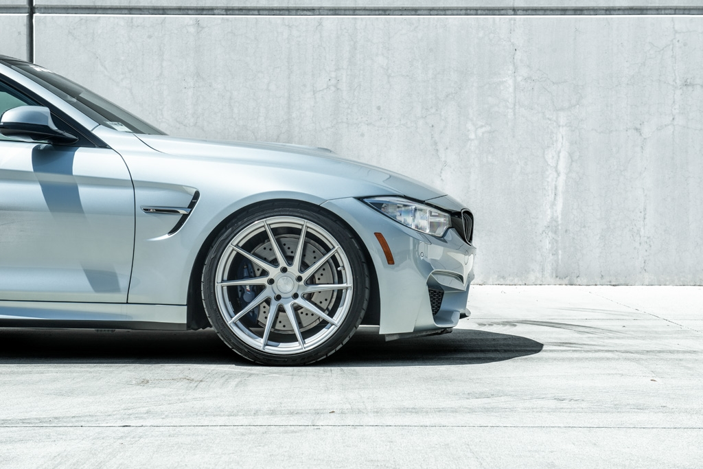 Avant Garde M621 Wheels in Brushed Liquid Silver