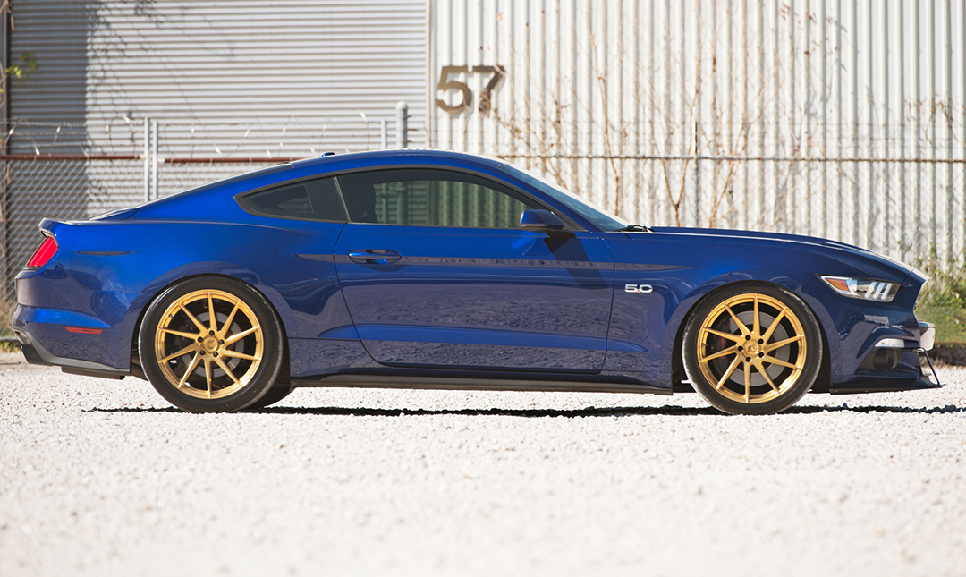 Avant Garde M621 Wheels in Gold Bullion