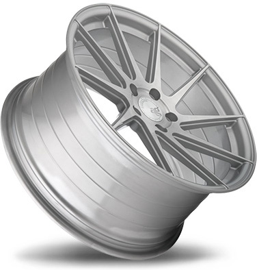 Avant Garde M621 Wheels in Brushed Liquid Silver for Cadillac
