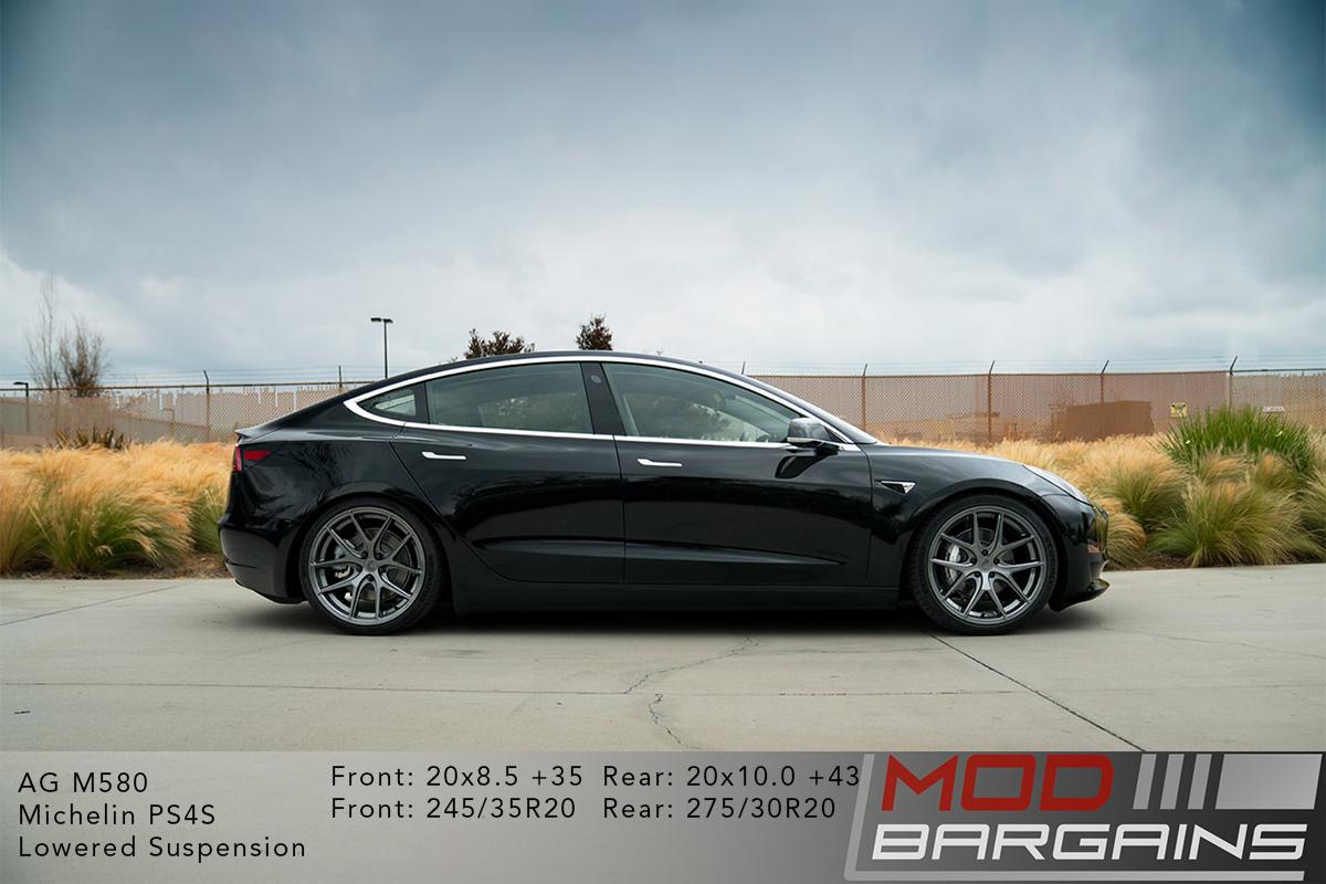 Avant Garde M580 Wheels for Tesla - 19/20 inch - 5x114 3