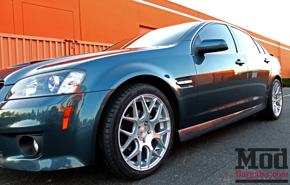 Avant Garde M590 Wheels for Pontiac G8 5x120mm Satin Silver Installed 4