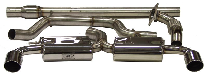 Billy Boat CatBack Exhaust System for 2010-2014 VW GTI MK6