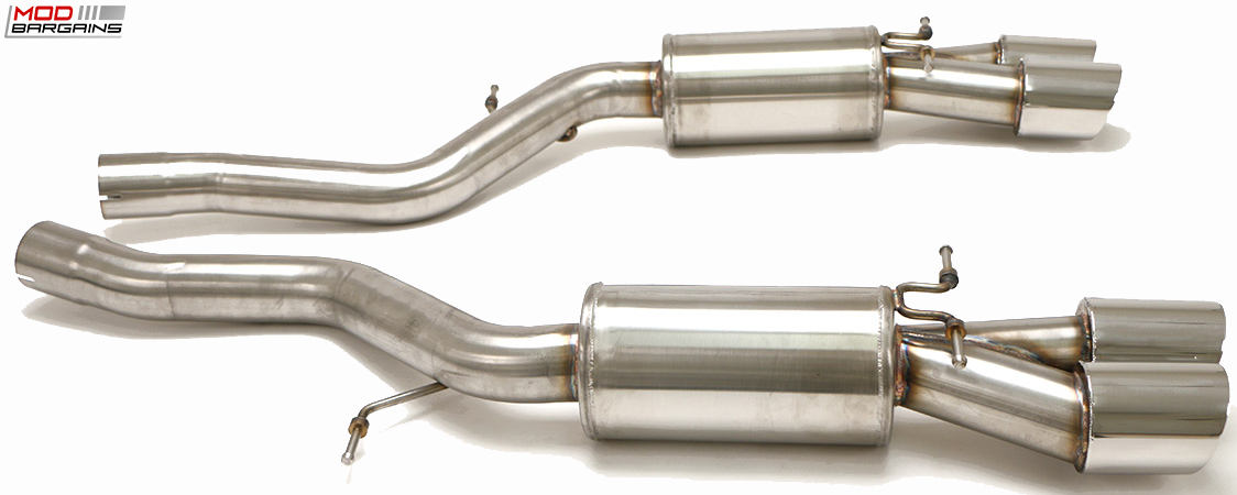 Billy Boat Axle-Back Exhaust System for 06-09 BMW M6 [E63]