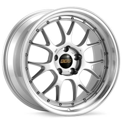 BBS LMR Forged Porsche Wheels Silver