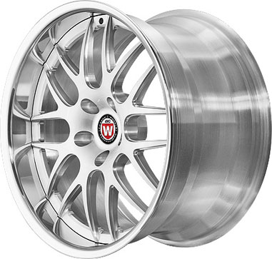 BC Racing Wheels FJ 08 Bright Silver