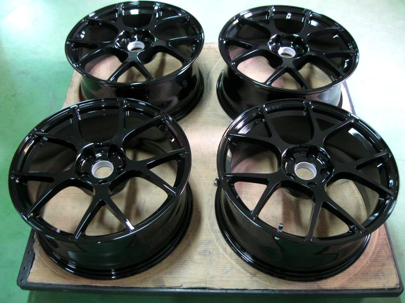 BC Racing Wheels Gloss Black RS41