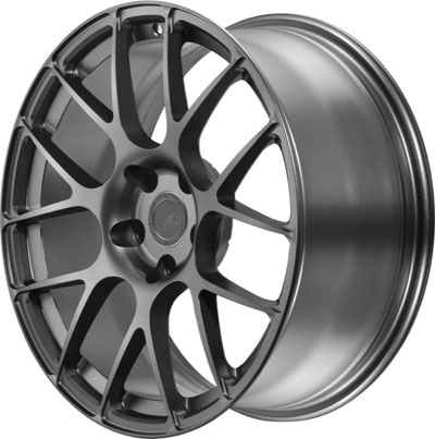BC Racing Wheels Matte Gunmetal RS 40
