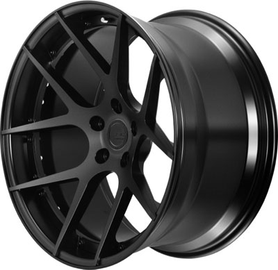 BC Racing Wheels HB 05 Matte Black Drum Matte Black Face
