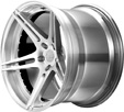 BC Racing Wheels HB 09 Bright Silver