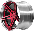 BC Racing Wheels HB 09 Crystal Burgundy