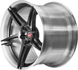 BC Racing Wheels HB 09 Flashing Black