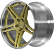 BC Racing Wheels HB 09 Gold