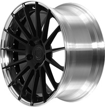 BC Racing Wheels HB 15 Matte Black