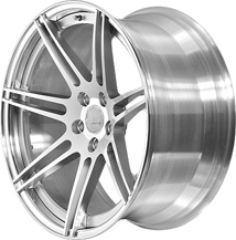BC Racing Wheels HB 27 Bright Silver