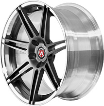 BC Racing Wheels HB 27 Matte Black