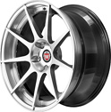BC Racing Wheels HB 29 Bright Silver