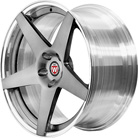 BC Racing Wheels HB 35 Brushed Black