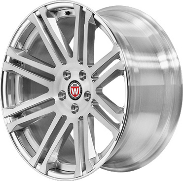 BC Racing Wheels HB 36 Bright Silver