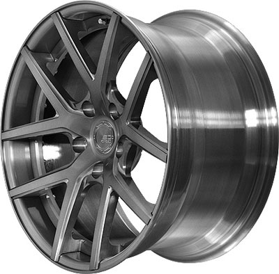 BC Racing Wheels HB-S 02 Brushed Black